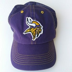 NFL Vikings Fitted Hat Mesh